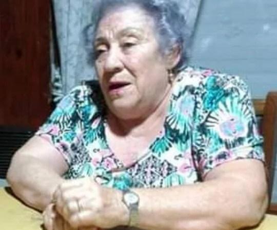 María Luisa en el cielo de las enfermeras.