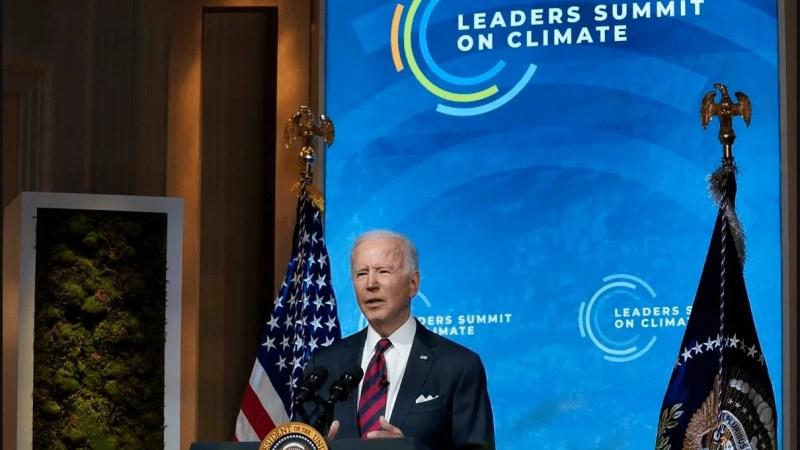 Biden anuncia que EEUU reducirá a la mitad sus emisiones de carbono para 2030