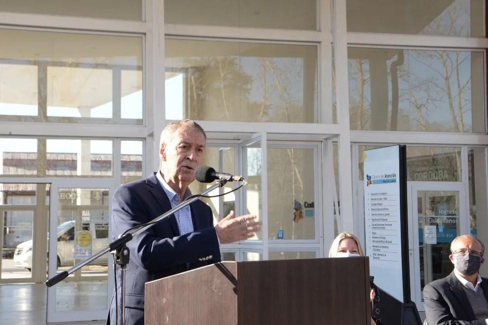 Marcos Juárez: Schiaretti anunció varias obras que beneficiarán a miles de vecinos