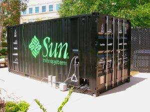 sun microsystems data trailer