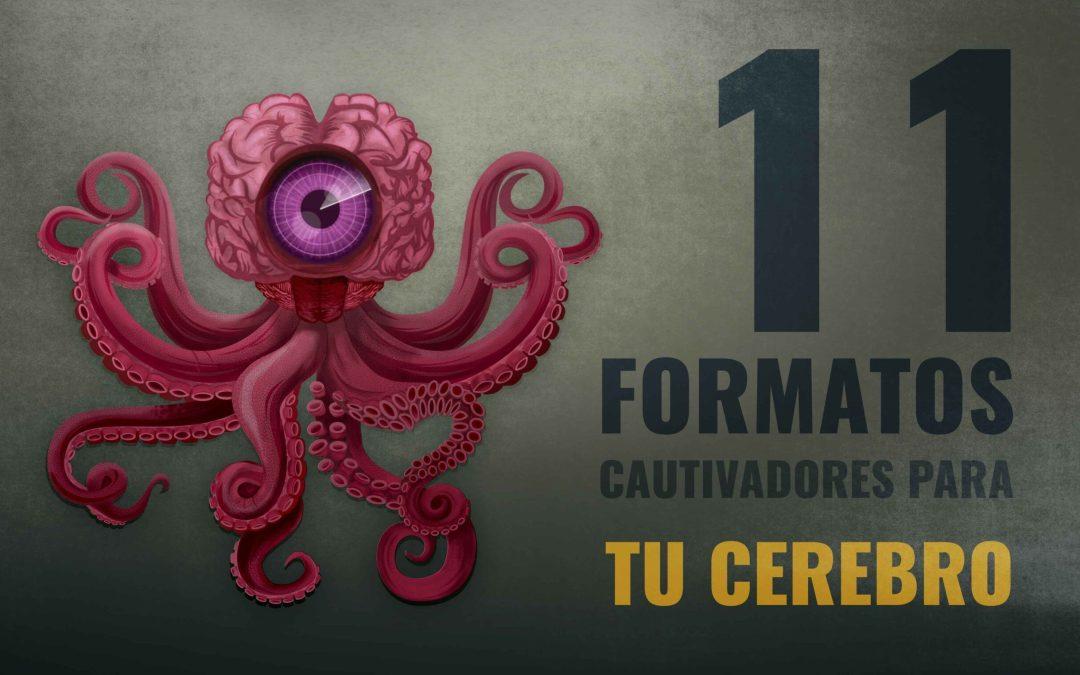 11 TIPOS DE INFOGRAFÍAS