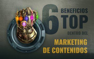 6 BENEFICIOS DEL MK DE CONTENIDOS