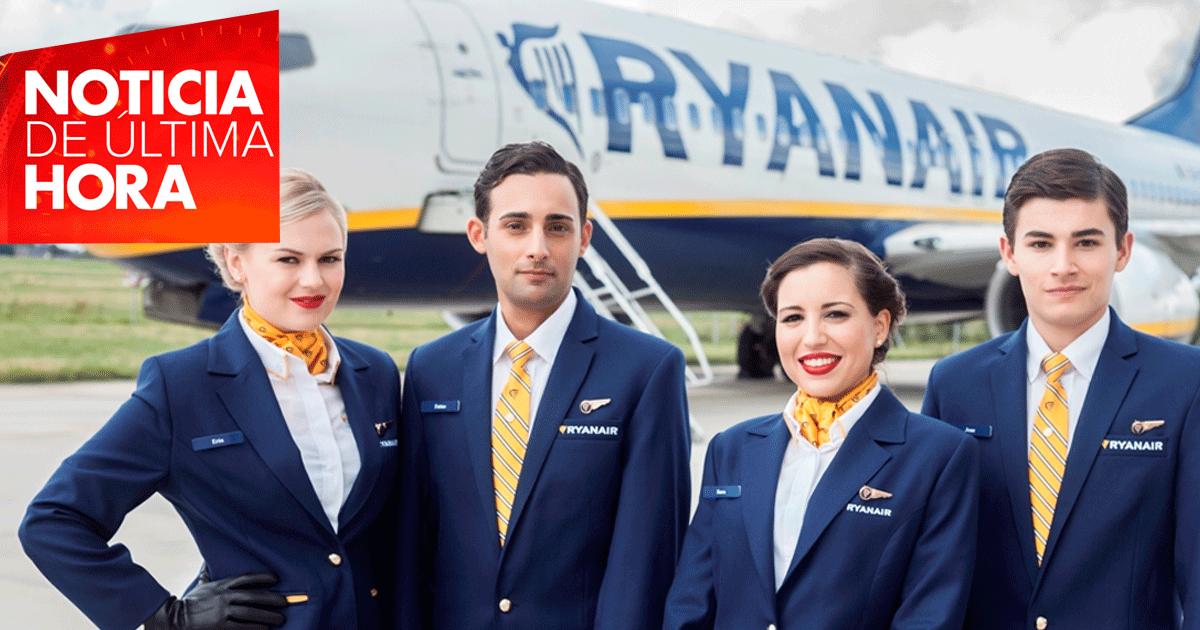 La empresa de vuelos Ryanair cubrirá más de 100 vacantes disponibles.