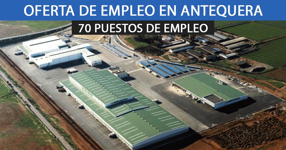 centro logístico de Mercadona en Antequera