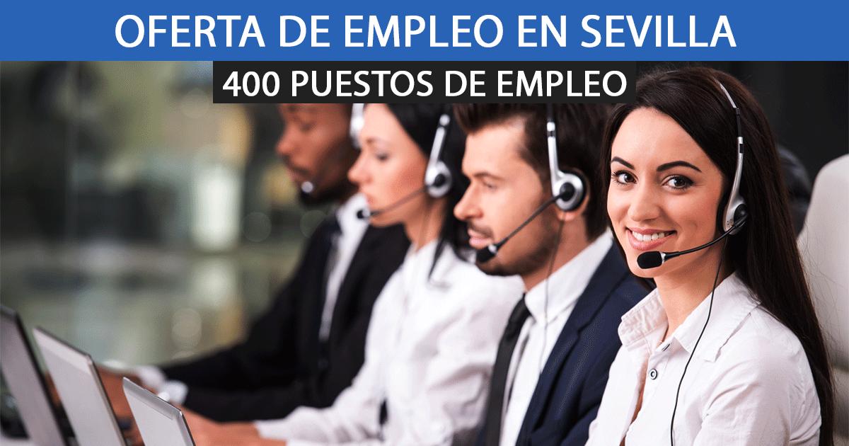 ICCS necesita contratar a 400 nuevos empleados en Sevilla.