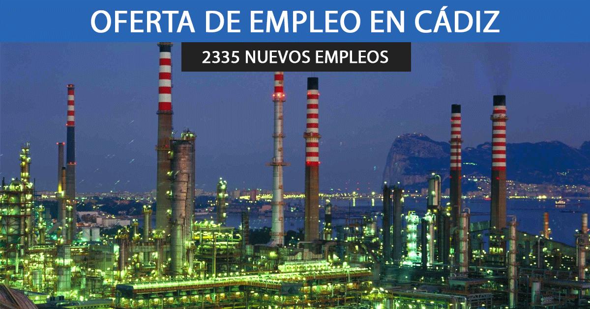 Cepsa necesitará contratar a 2.335 empleados para su refinería de San Roque, Cádiz.