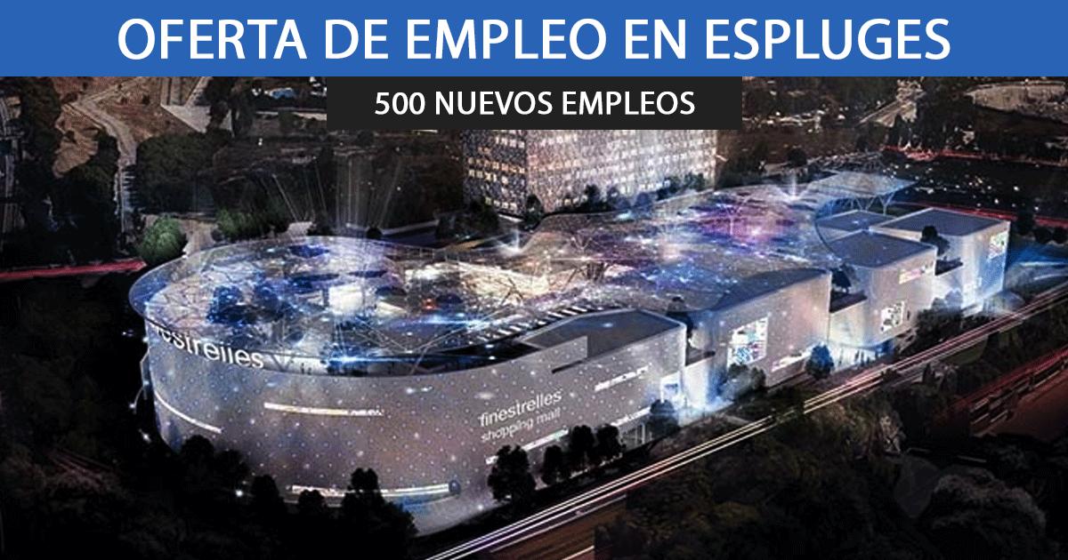 El Centro Comercial Finistrelles necesitará contratar a más de 500 empleados.