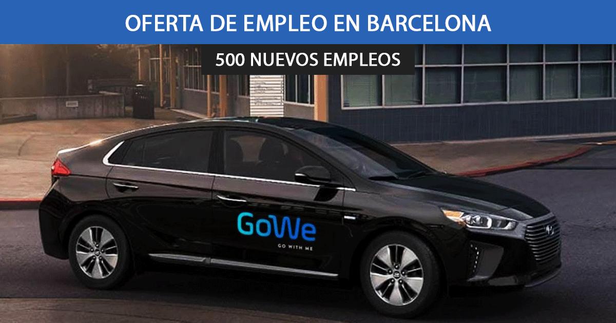 VTC Gowe en Barcelona