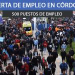500 empleos en Córdoba