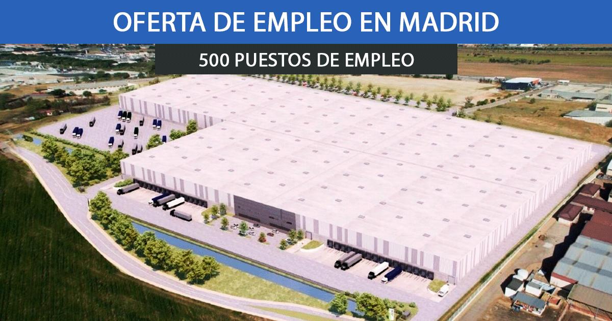 Se necesitan 500 trabajadores para el nuevo centro logístico de Amazon en Alcalá de Henares