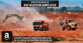 Badajoz para el nuevo centro de Amazon