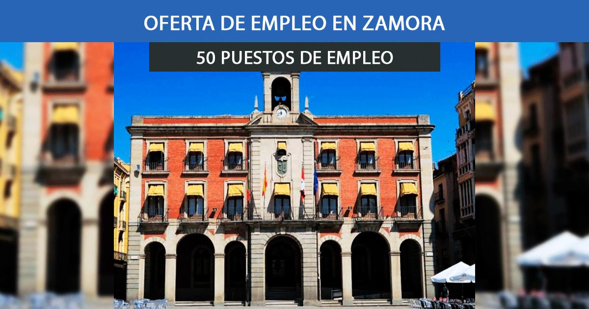 Se necesitan 50 trabajadores en Zamora para empezar a trabajar esta Semana