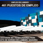 Se necesitarán 461 trabajadores para la planta de Nordex en Lumbier, Navarra