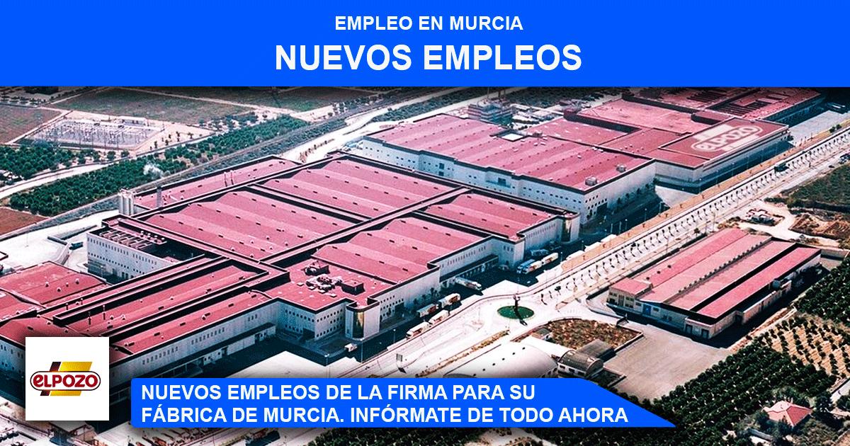 La fábrica El Pozo en Murcia