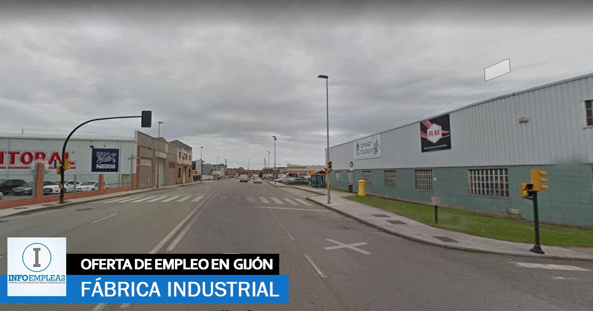 Se necesita Personal para Fábrica Industrial en Gijón, Asturias
