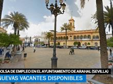 Se necesitan trabajadores para 3 bolsas de empleo en el ayuntamiento de Arahal (Sevilla)