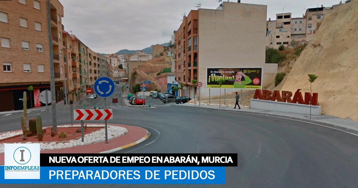 Se necesita Personal para carga y descarga manual en Abarán (Murcia)