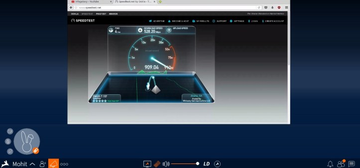 How To Increase Your Internet Speed Upto 900Mbps-infogalaxy.in