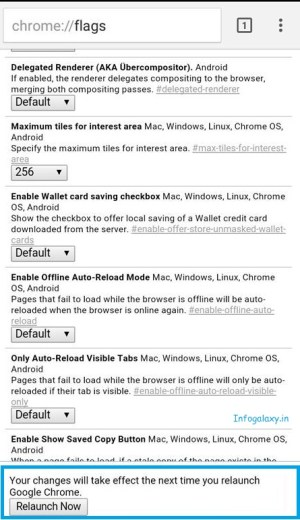 How to Make Websites Load Fast In Google Chrome On Android-infogalaxy.in