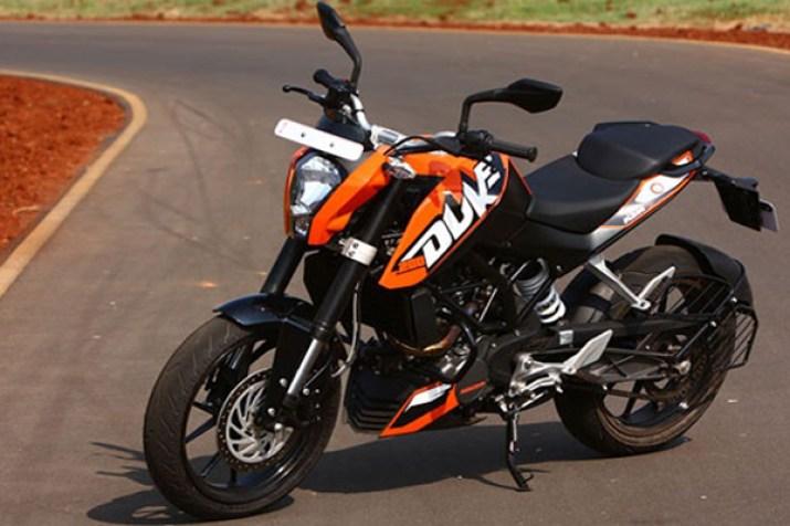 KTM Duke 200 Bikes Under 2Lakhs