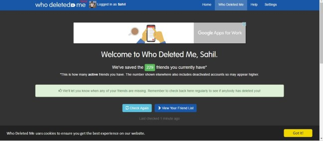 How to Find out who Deleted you on Facebook