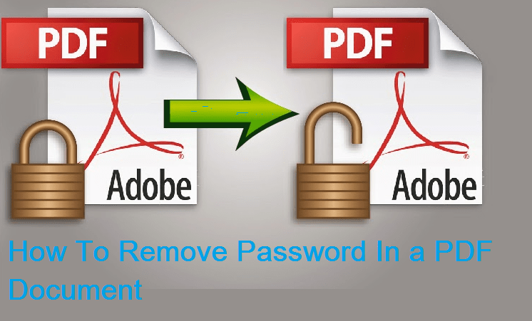 How To Remove Password In a PDF Document