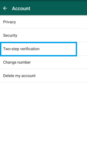 How To Enable Two-Step Verification Feature In WhatsApp On Android