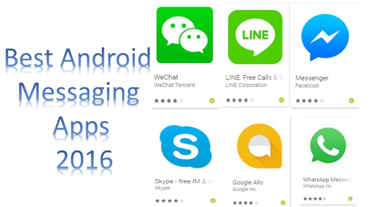 Best Android Messaging Apps 2016