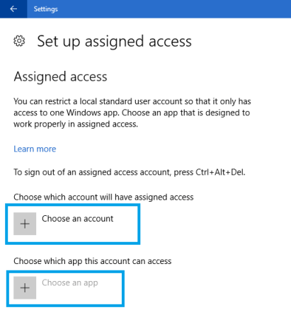 How To Restrict Users To A Single App In Windows