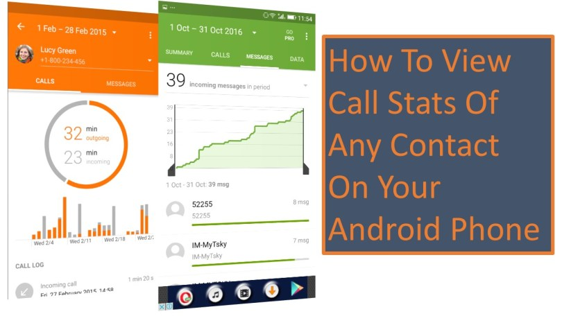 How To View Call Stats Of Any Contact On Your Android Phone