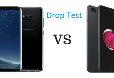 Drop Test Of Samsung Galaxy S8 And iPhone 7 Plus
