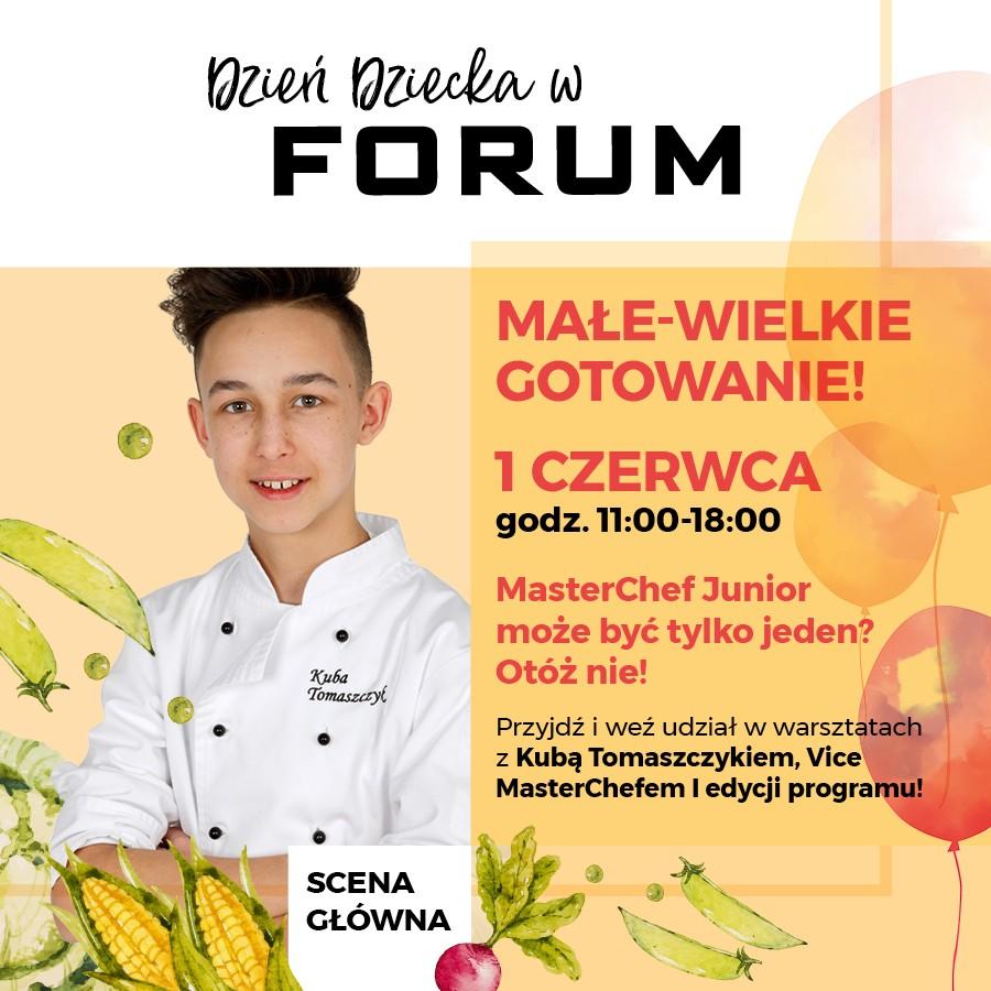 Vice Master Chef Junior W Forum Gliwice Z Okazji Dnia
