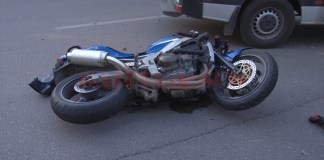 Accident de motocicletă