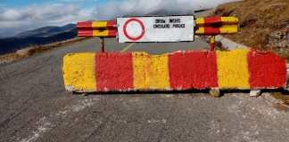 Transalpina nu mai este deschisă între Rânca și Obârșia Lotrului
