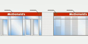 Fachada restaurante Mc Donald´s