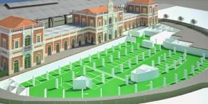 render 3D concurso obra civil