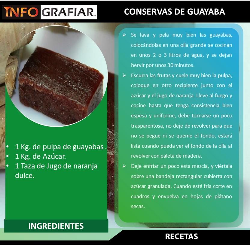 CONSERVAS DE GUAYABA