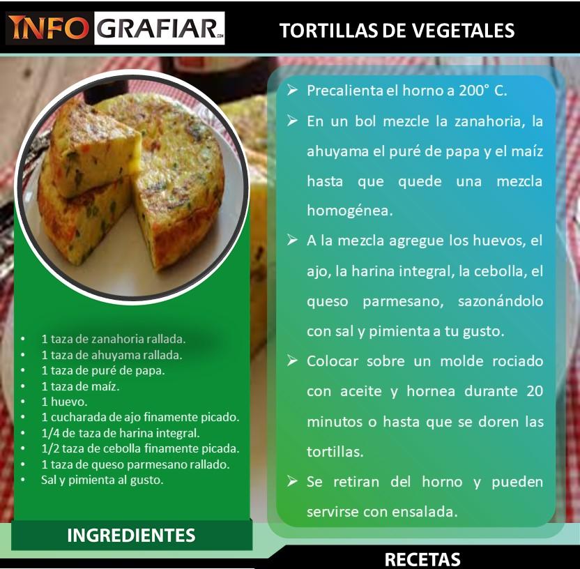 TORTILLA DE VEGETALES