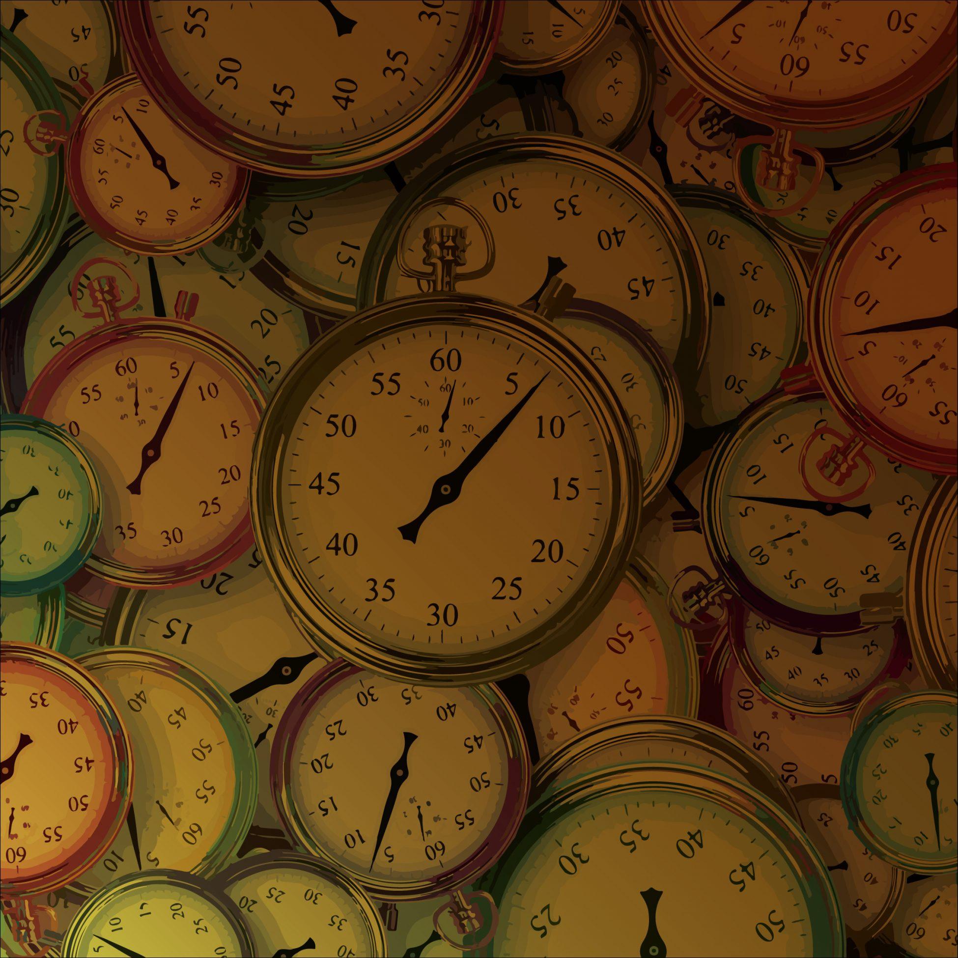 El tiempo va pasando, el tiempo es oro