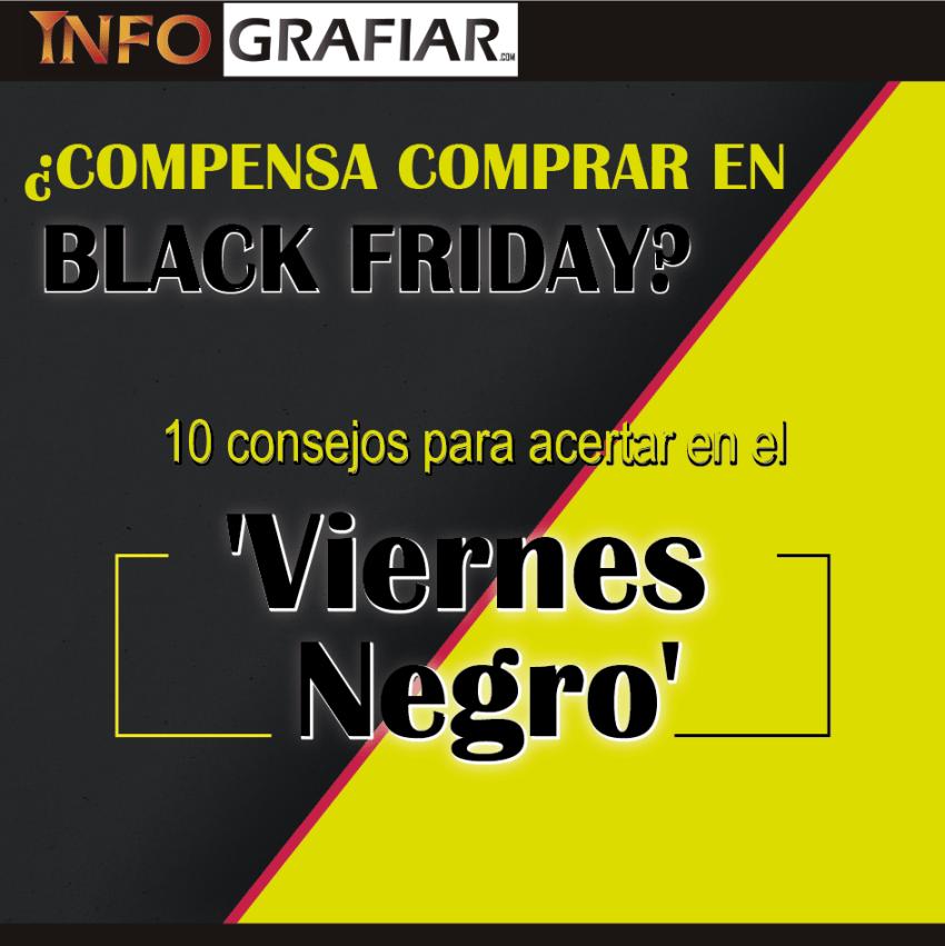 ¿COMPENSA COMPRAR EN BLACK FRIDAY? 10 Consejos para acertar en el 'Viernes Negro'
