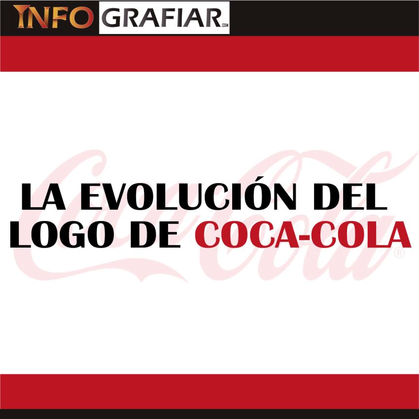LA EVOLUCIÓN DEL LOGO DE COCA-COLA