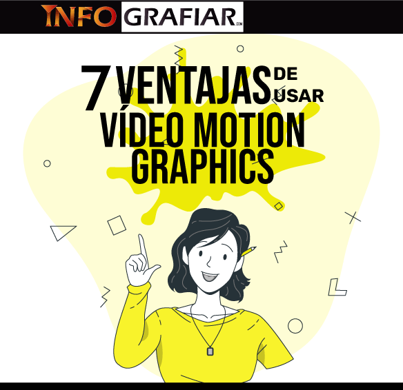 7 ventajas de usar vídeo motion graphics