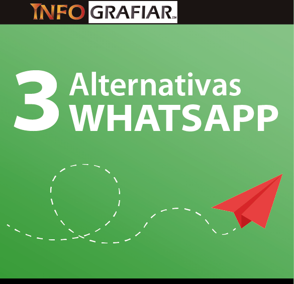 3 Alternativas a whatsapp