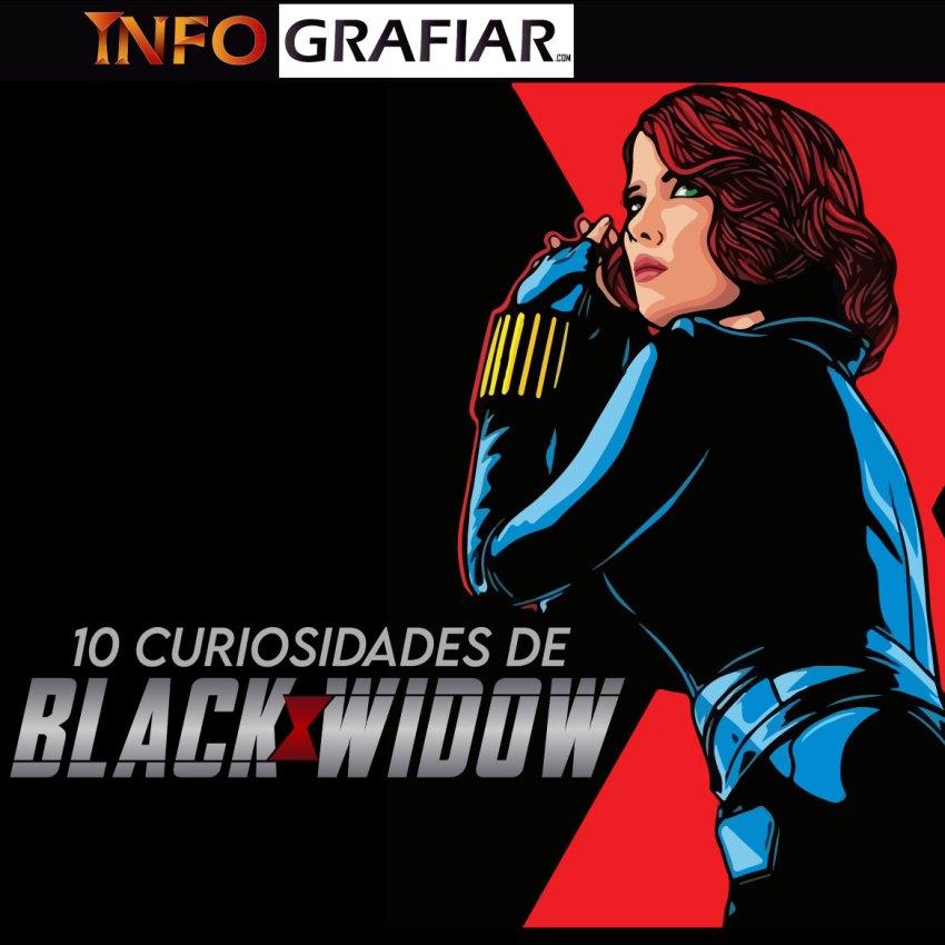 10 curiosidades de Black Widow