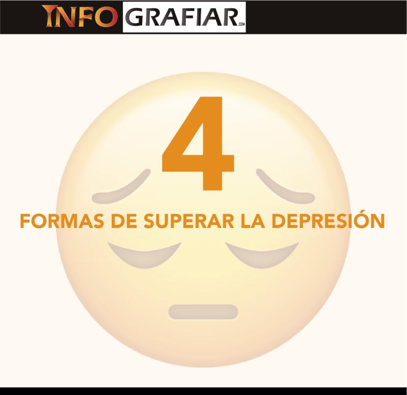 Cuatro formas de superar la depresión