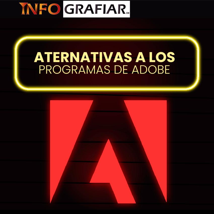 Alternativas gratuitas y de paga a los programas de diseño de Adobe