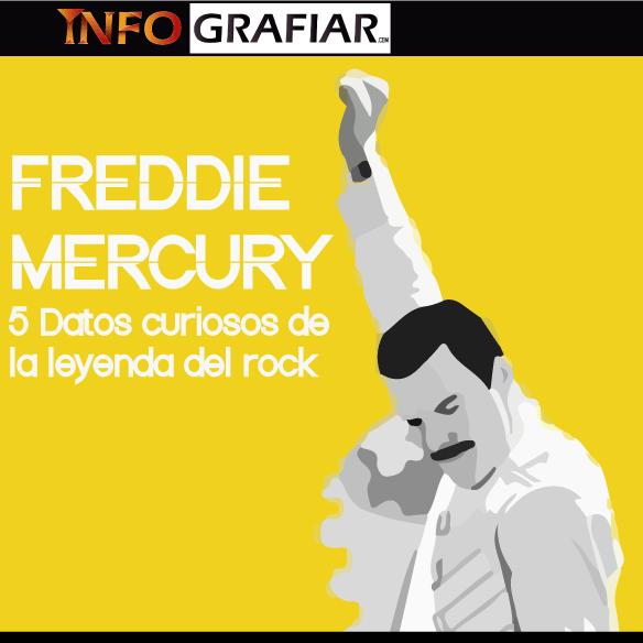 Freddie Mercury: 5 datos curiosos de la leyenda del rock