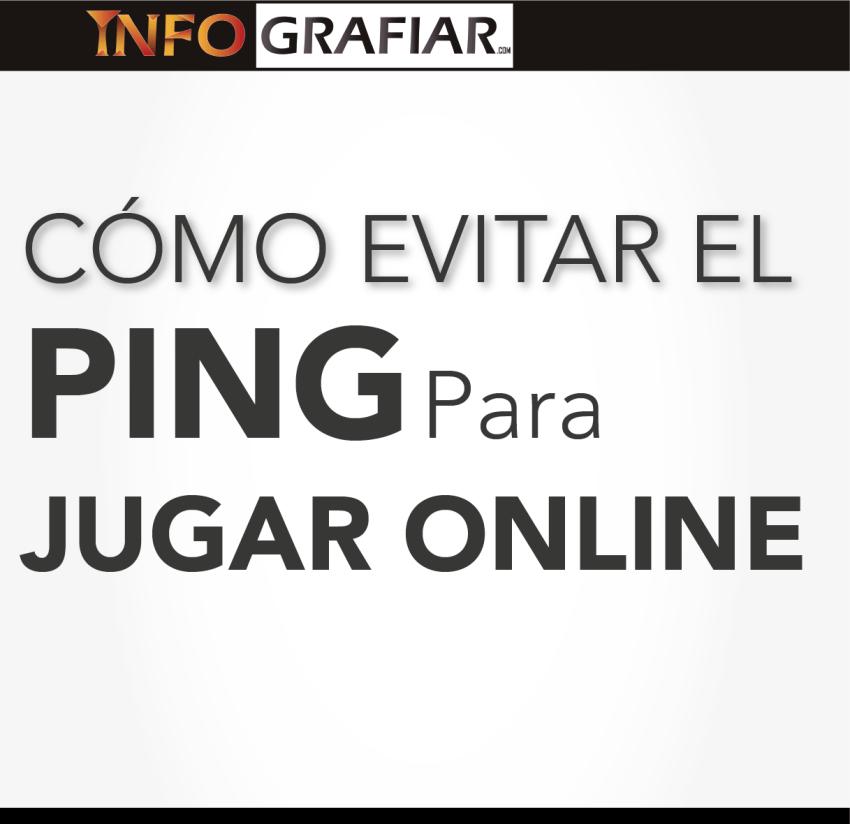 Como evitar el ping para jugar online