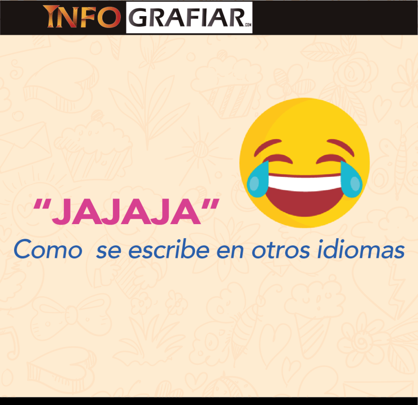 «Jajaja» como se escribe en diferentes idiomas