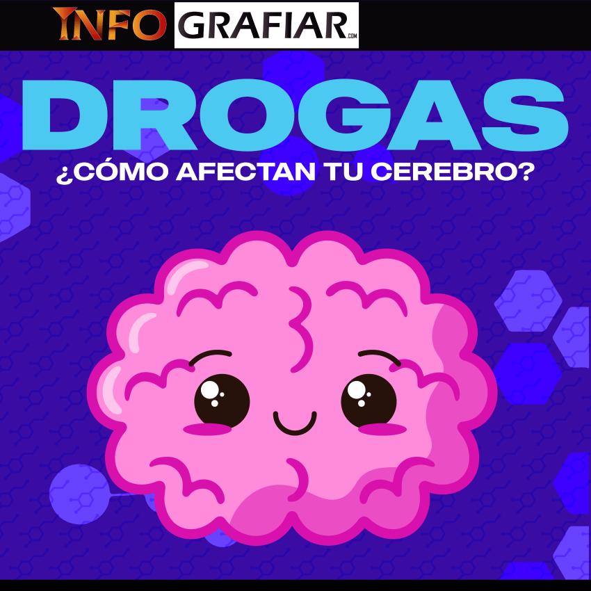 Así destrozan tu cerebro las drogas